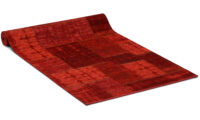 Carlucci röd - gångmatta på metervara