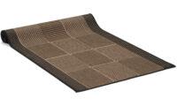 Brick svart - gångmatta på metervara
