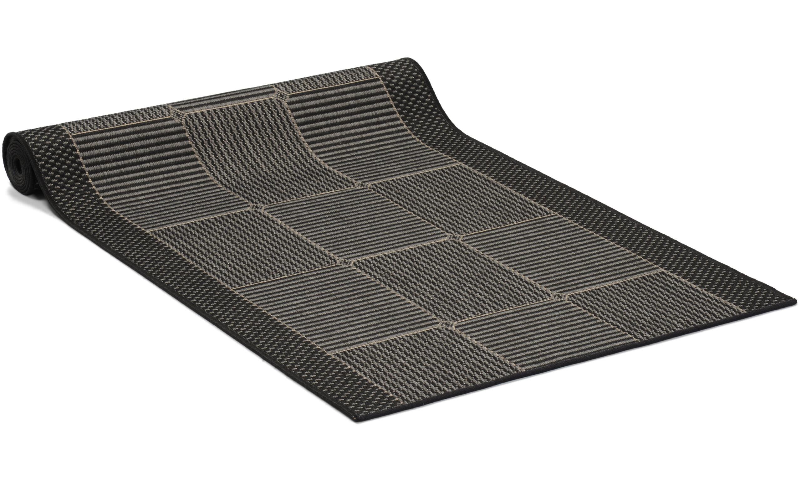 Brick grå - gångmatta på metervara