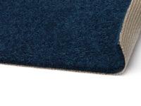 Las Vegas marinblå 180 - heltäckningsmatta