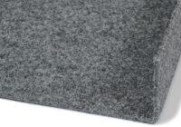 Ontario grå 76 - nålfiltsmatta