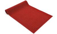 Pronto röd - gångmatta på metervara