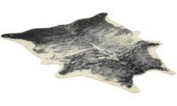 Vilgot exotisk svart/vit - kohud i konstmaterial