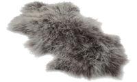 Shansi fårskinn - grå snowtop