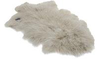Shansi fårskinn - ljusgrå snowtop