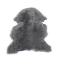 Långhårigt fårskinn - ljusgrått