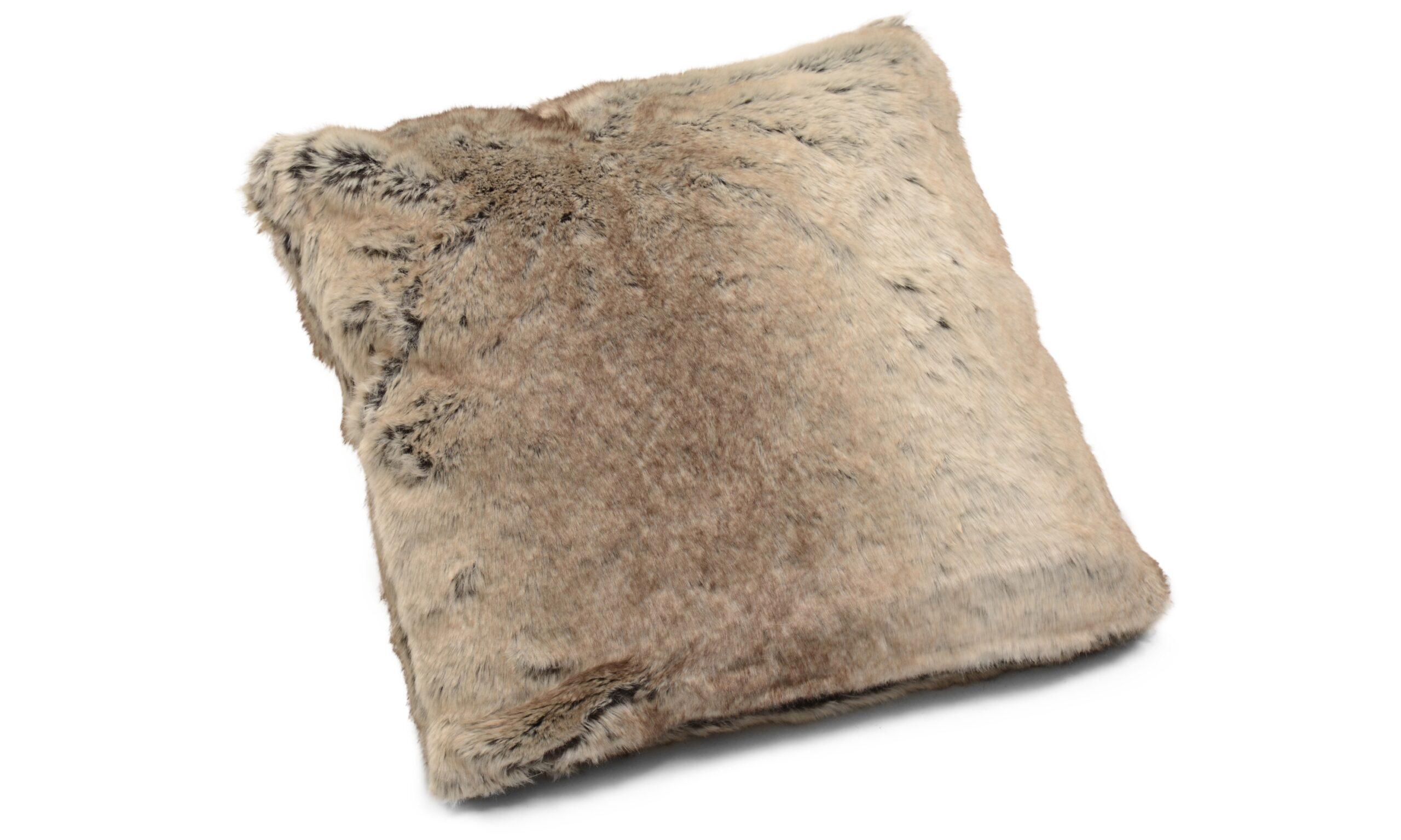 Cozy - kuddfodral i konstmaterial