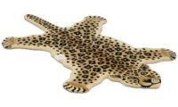 Leopard natural - handtuftad matta