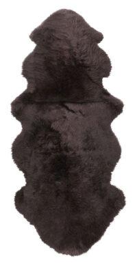 Dubbelt långhårigt fårskinn - 10288 mörkbrunt
