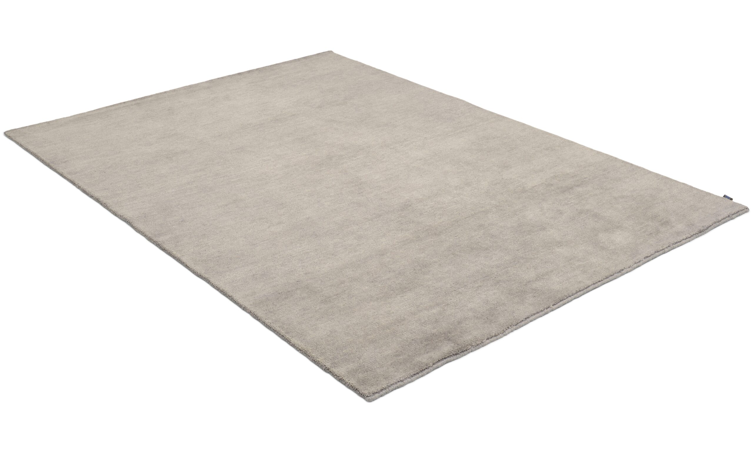 Nepali dark grey - handknuten matta