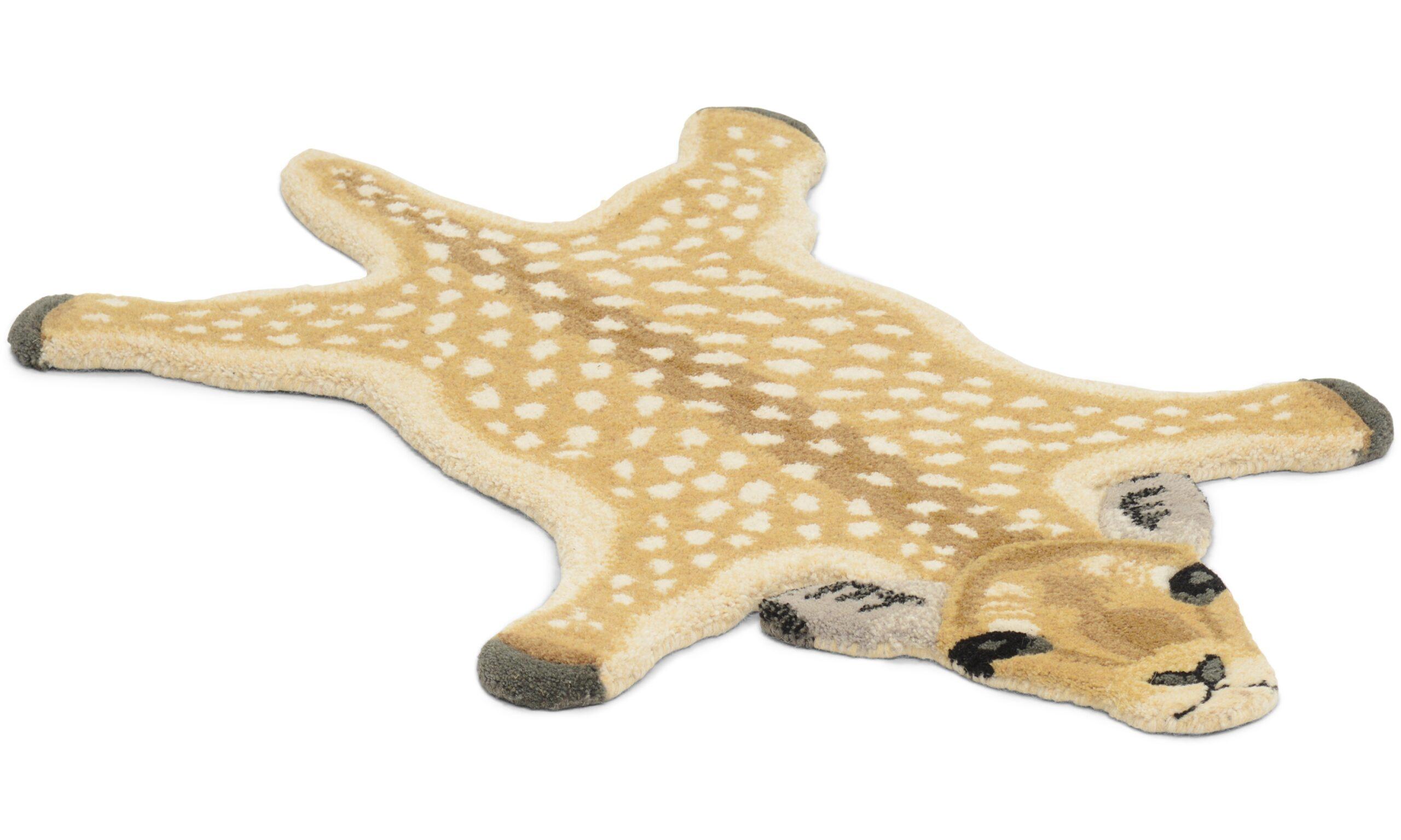 Deer natur - handtuftad matta