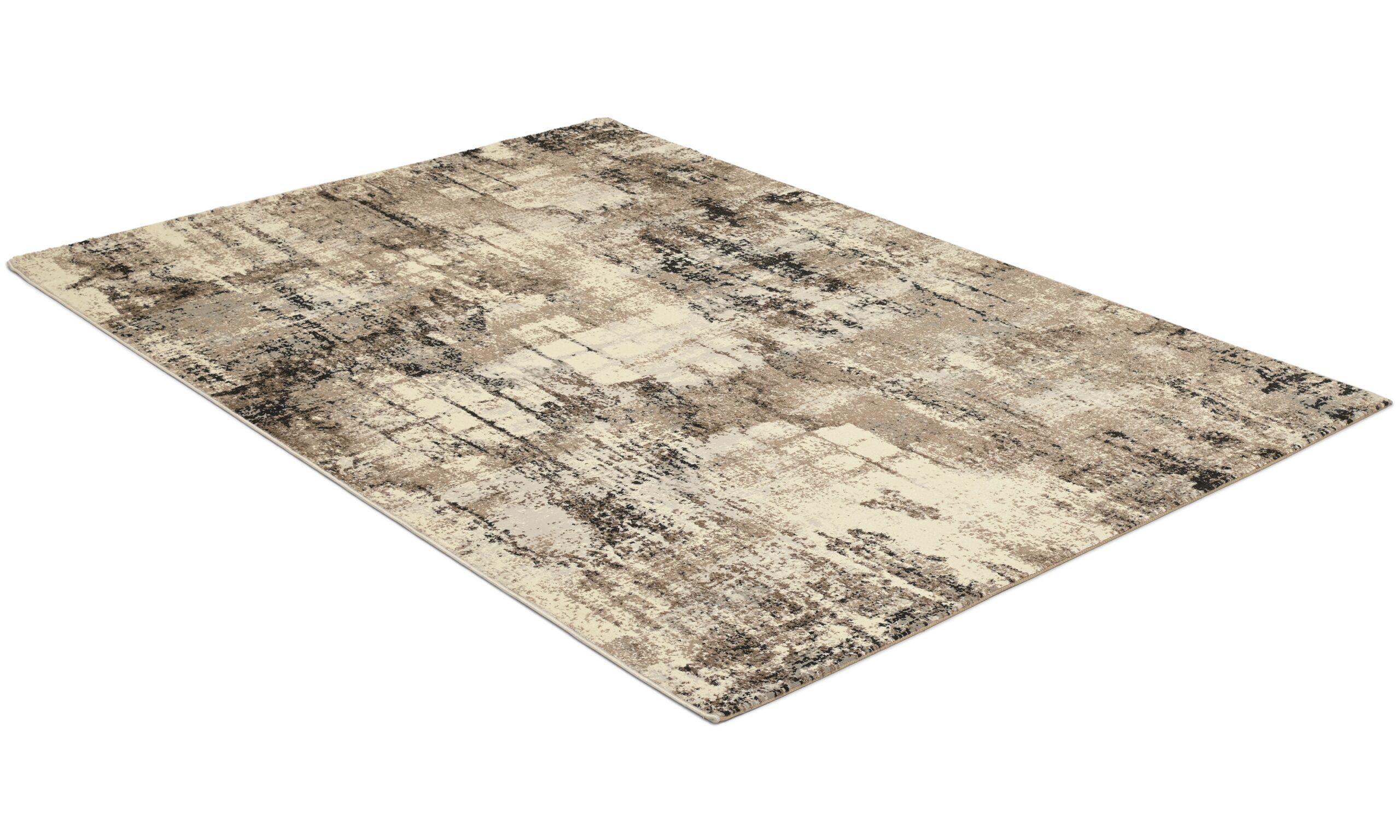 Axel beige - maskinvävd matta