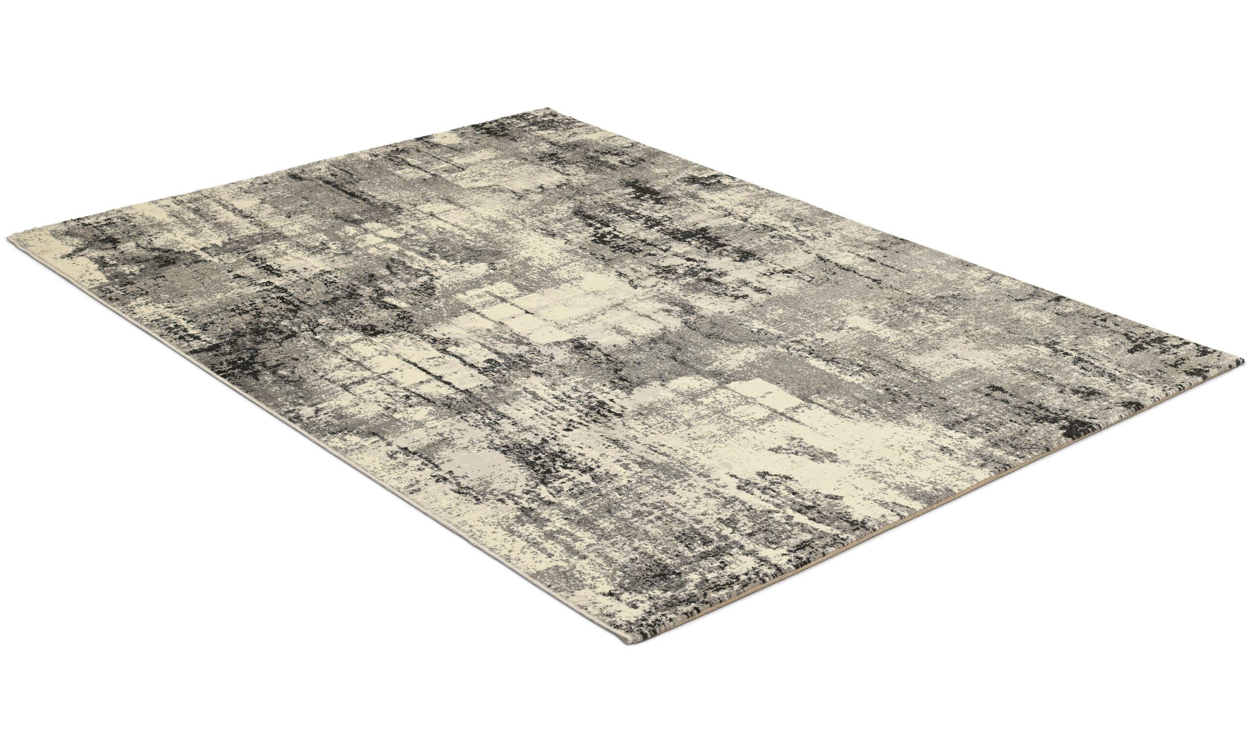 Axel grå - maskinvävd matta