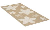 Flower beige - plastmatta