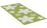 Flower grön - plastmatta