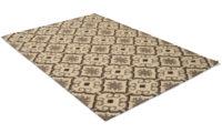 Marrakech grå - handvävd ullmatta