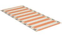 Peak orange - plastmatta