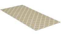 Wave beige - plastmatta