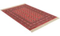 Eufrat röd - konstsilkesmatta