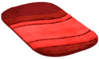 Siesta röd - badrumsmatta