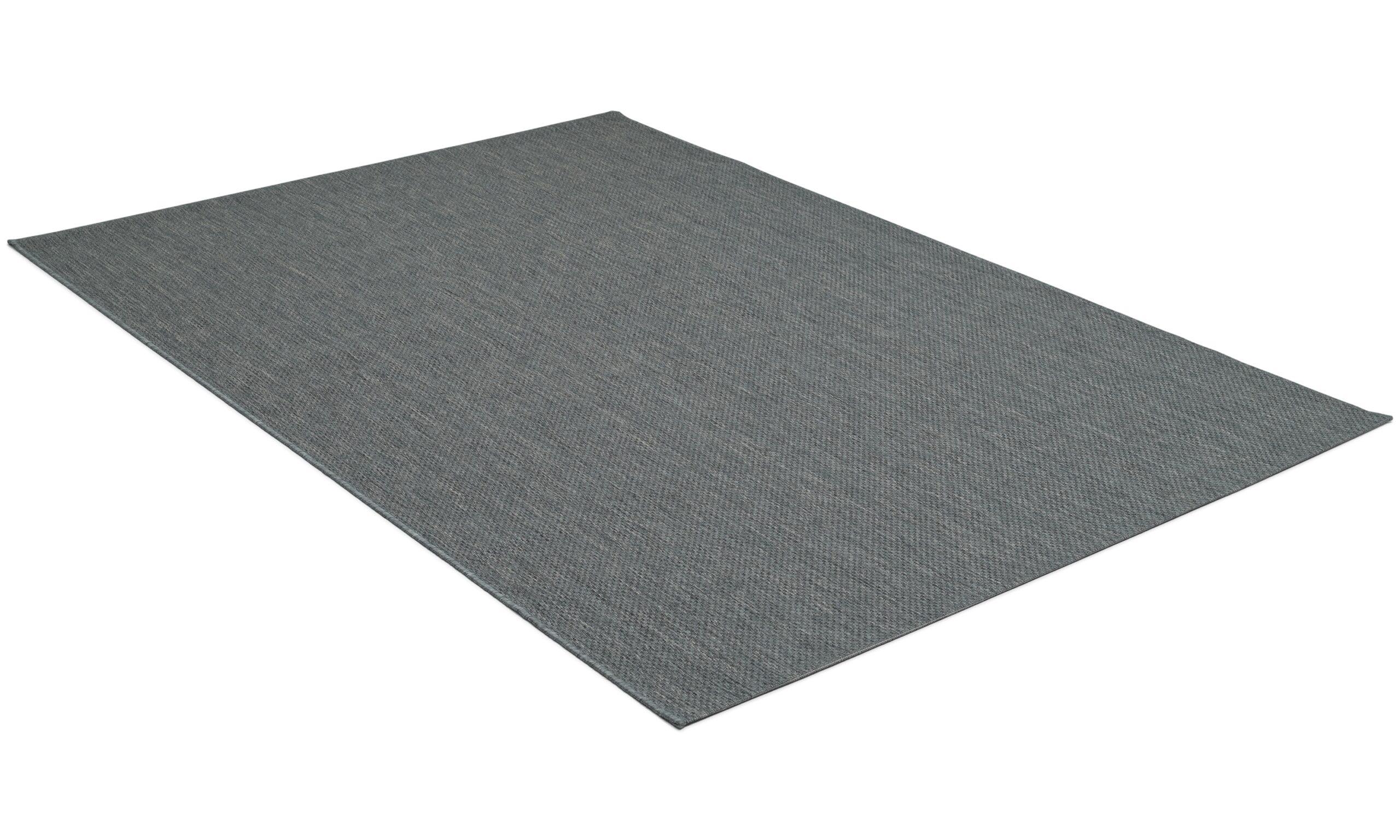 Valencia antracit - flatvävd matta