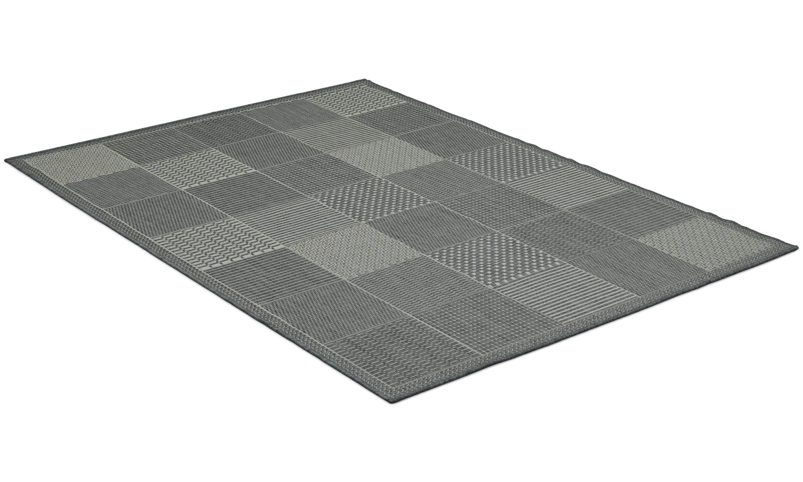 Taverna champ/grey - flatvävd matta