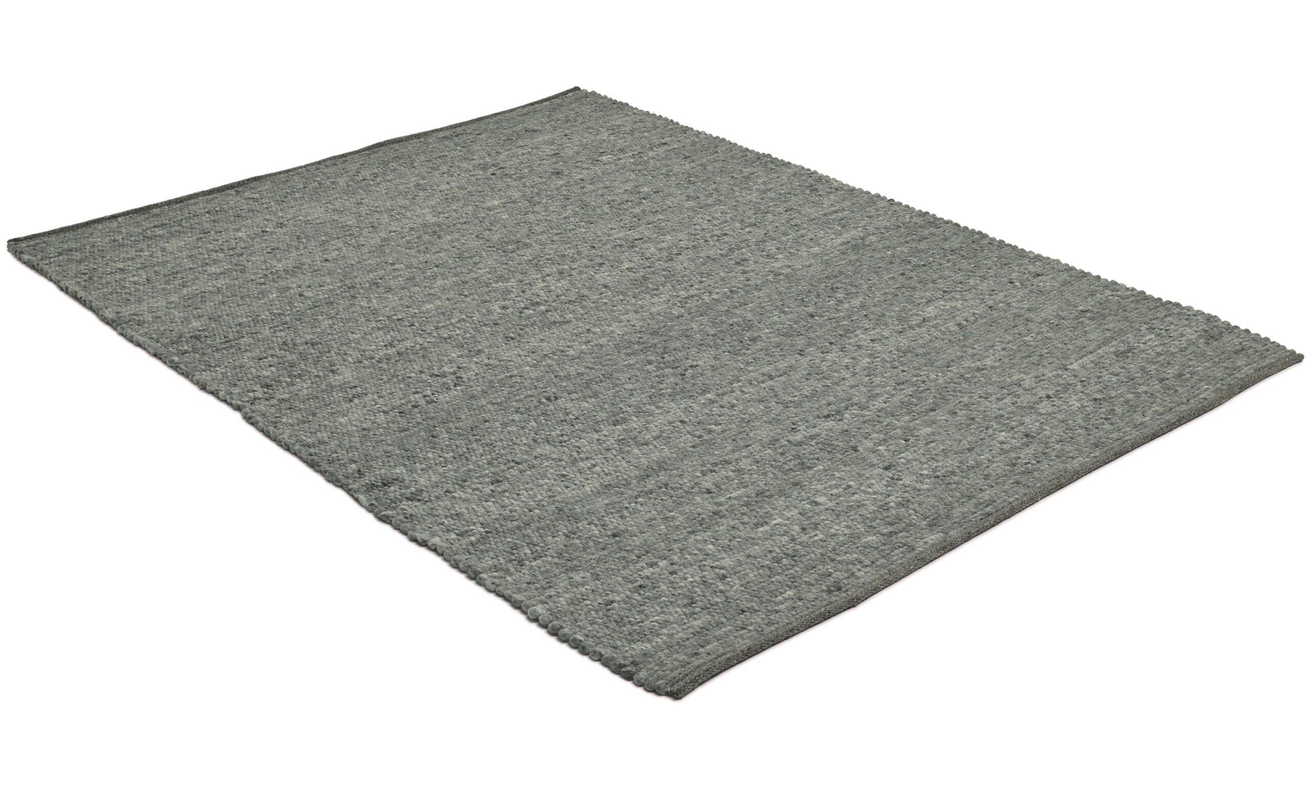 Merino granit - handvävd ullmatta