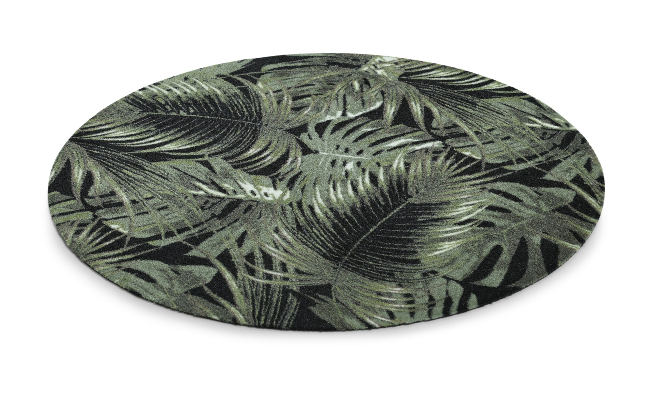 Palm leaves rund - multifunktionsmatta