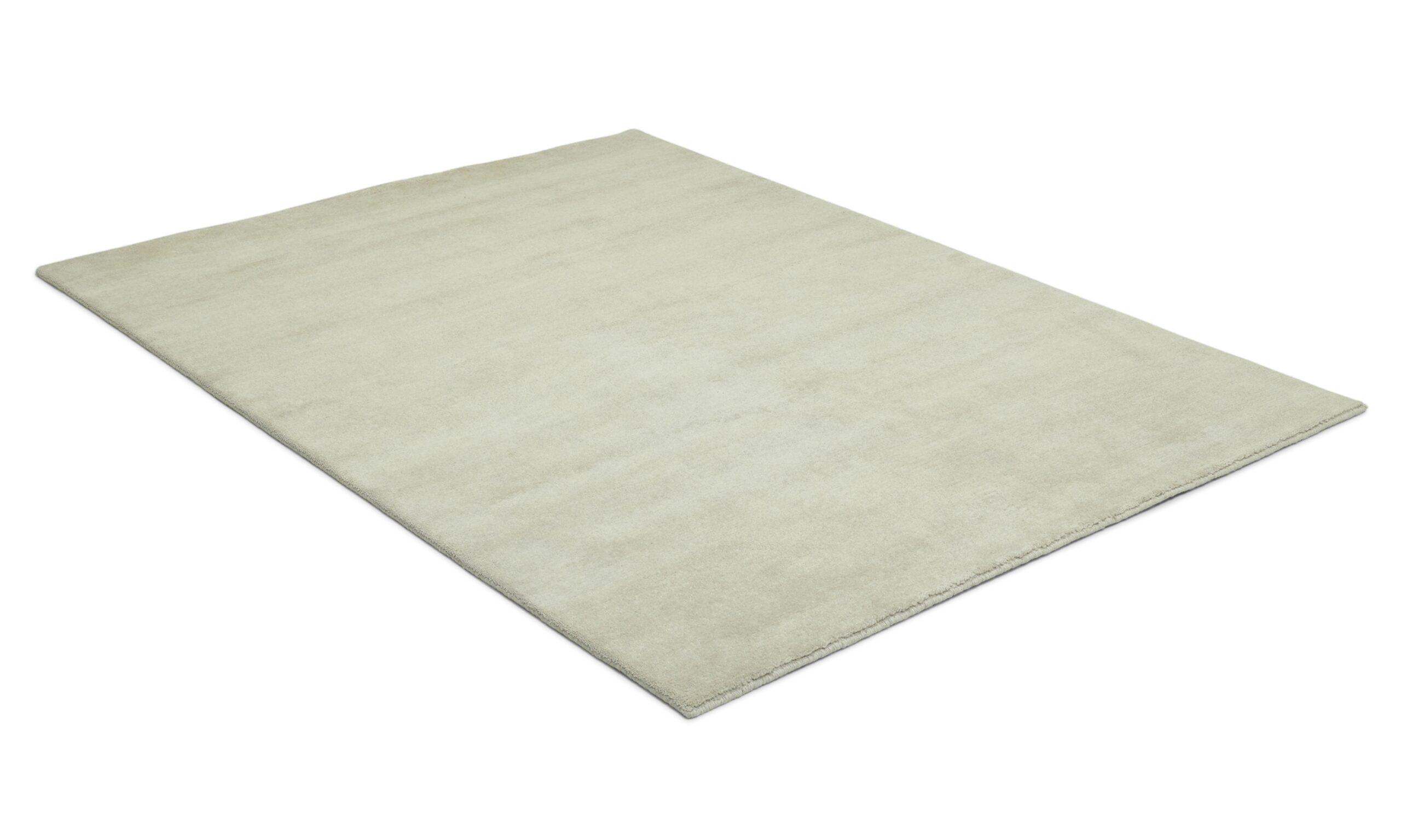 Aran offwhite - handknuten matta