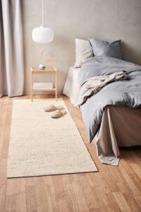 Cotton rug desert white - trasmatta
