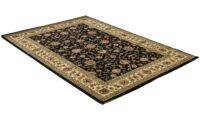 Marrakesh isfahan svart - maskinvävd matta